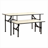 Pipeline Nesting Table Set Black