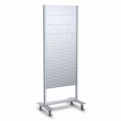 Portable Slatwall Stand 2 Sided