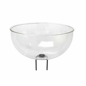 Post-top Acrylic Merchandising Bowl