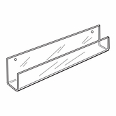 Quick Ship Acrylic Wallmount Card Racks