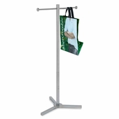 Shopping Bag Rack with 2 Arms