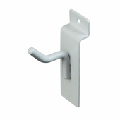Slatwall 1in. Deluxe Hook White