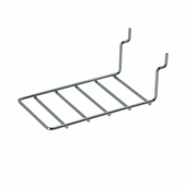 Slatwall Chrome Earring Ladder for 2-1/2in. Cards