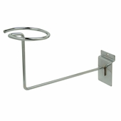 Slatwall Millinery Displayer Chrome