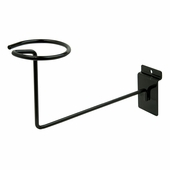 Slatwall Millinery Displayer Black