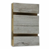 Slatwall Panel Weathered Barnwood Melamine