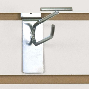 Slatwall Scanner Hook - 4in. Zinc Finish