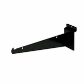 Slatwall Shelf Brackets 8in. Black