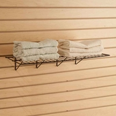Standard Slatwall Wire Shelves