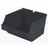 Storbox Big Plastic Bin for Slatwall Black