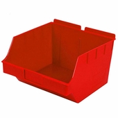 Storbox Big Plastic Bin for Slatwall Red