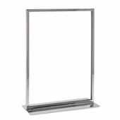 Vertical Sign Holder with Flat Base 11x14