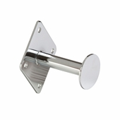 Wallmount Dressing Room Hook with 3in. Rod and Disc End