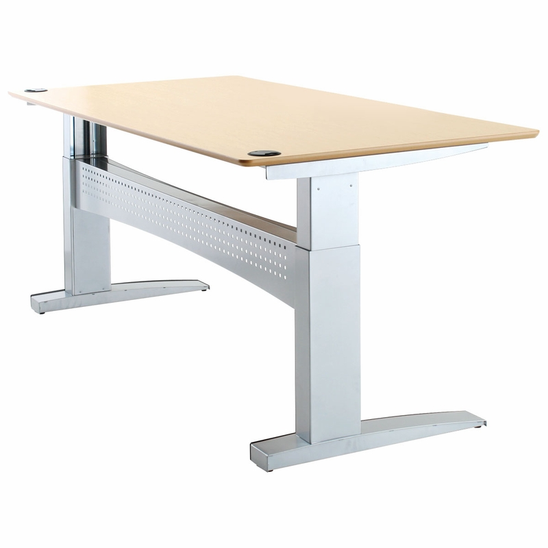 shop conset 501 11 laminate electric sit stand desk
