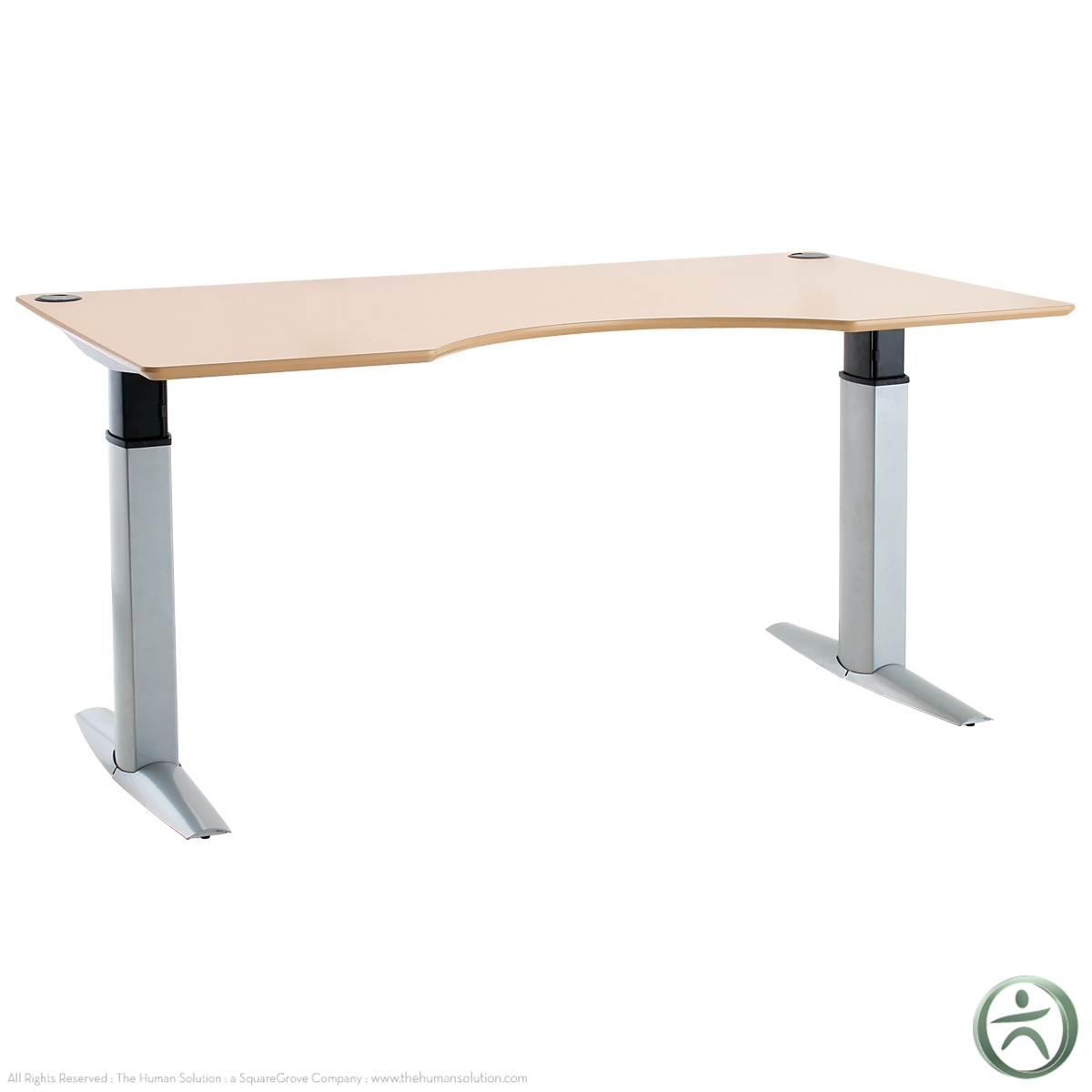 Conset 501 23 laminate electric 26 46 5 sit stand desk for Motorized sit stand desk