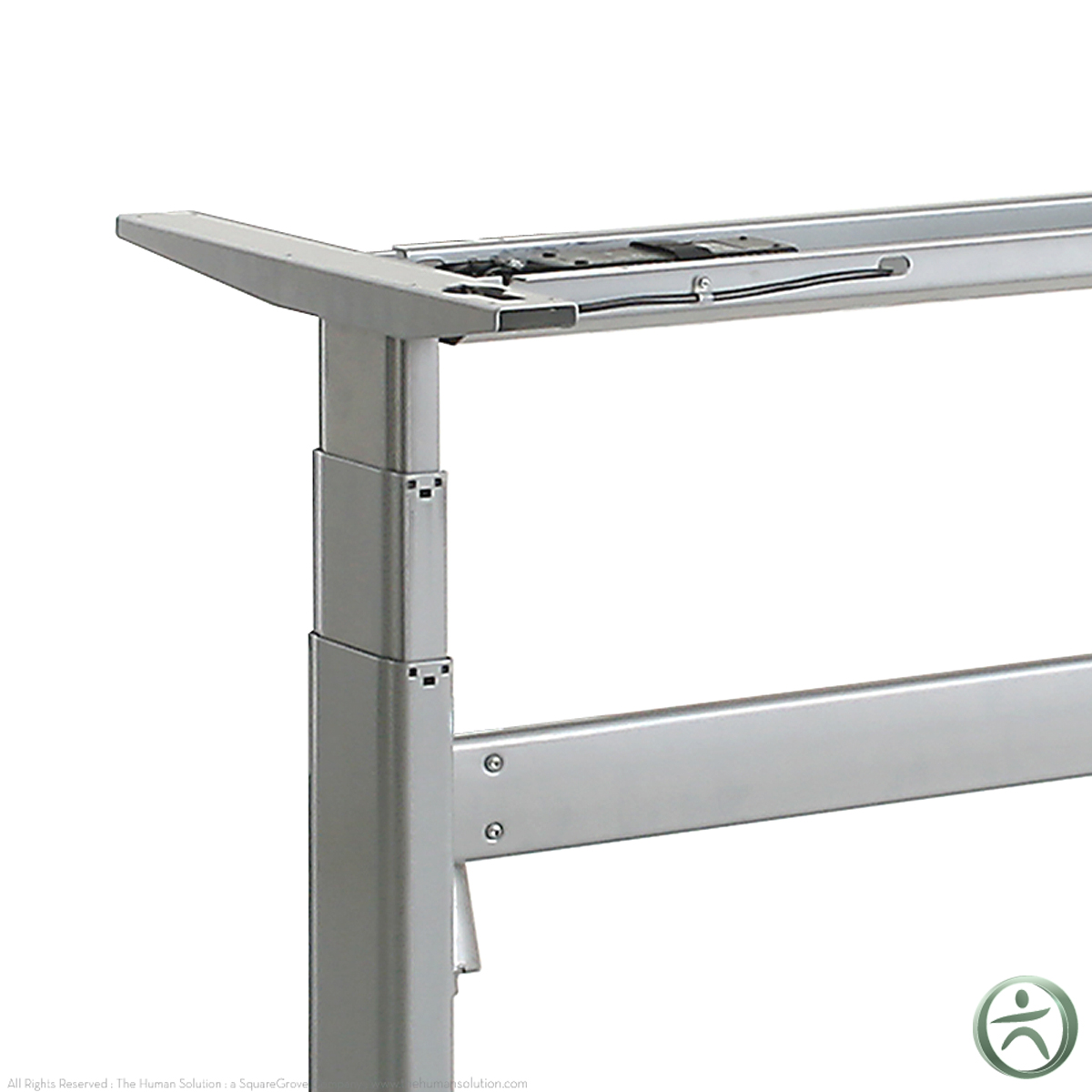 Shop conset 501 27 electric sit stand desk base for Motorized sit stand desk
