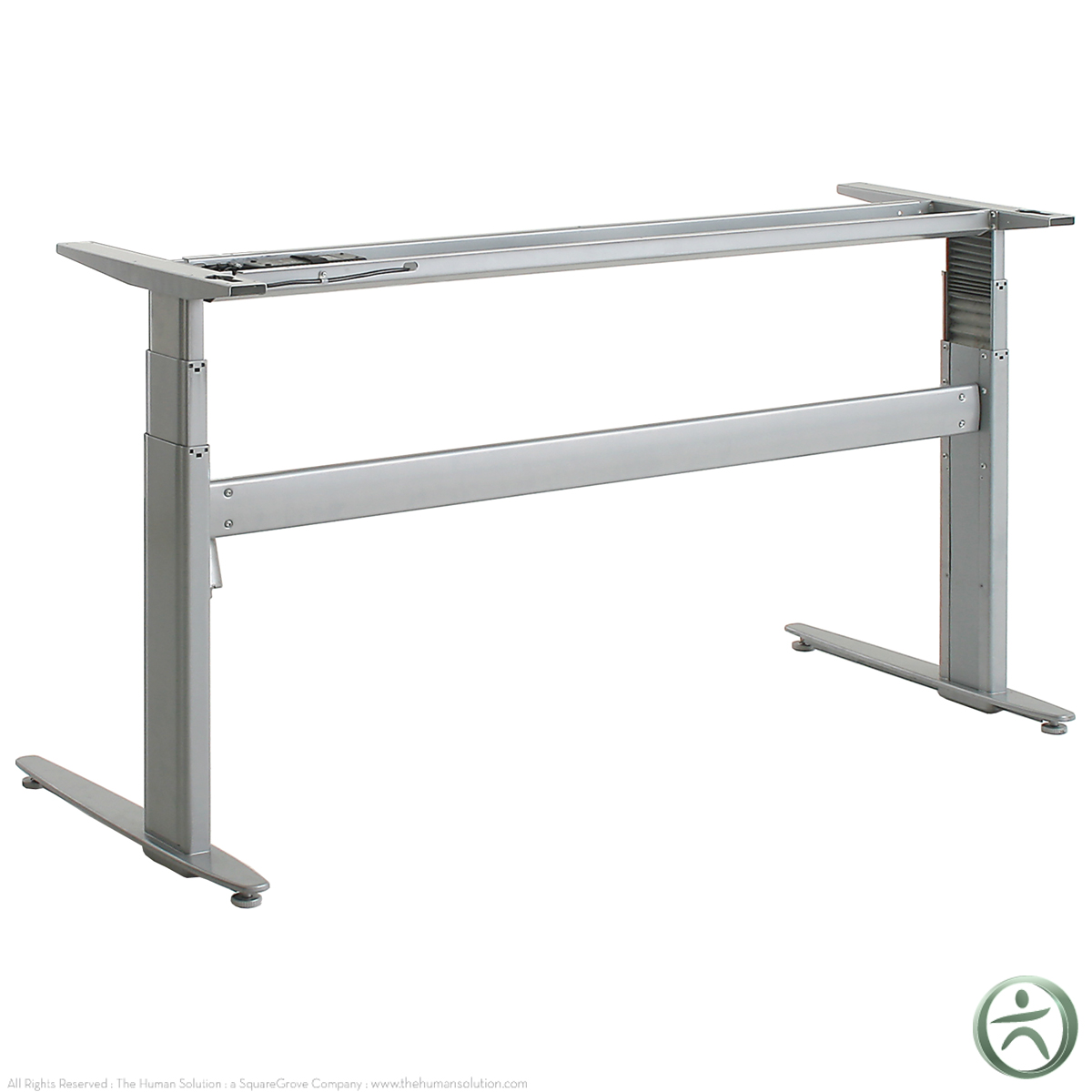 Shop conset 501 29 electric sit stand desk base for Motorized sit stand desk