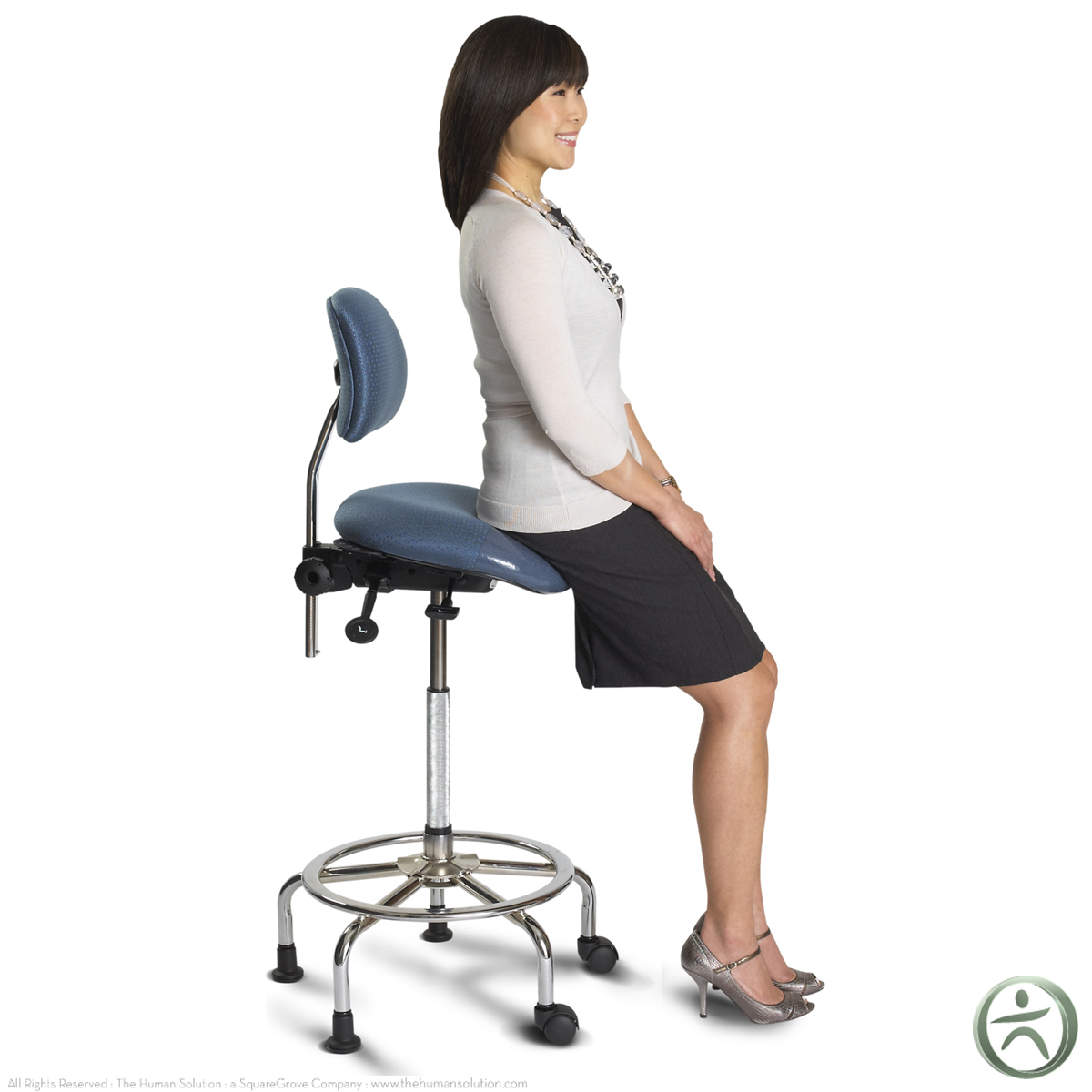 Ergocentric 3 in 1 sit stand stool shop ergocentric chairs for Sitting chairs