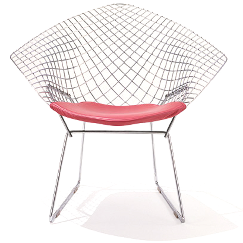 shop knoll bertoia diamond lounge chairs with seat cushions. Black Bedroom Furniture Sets. Home Design Ideas