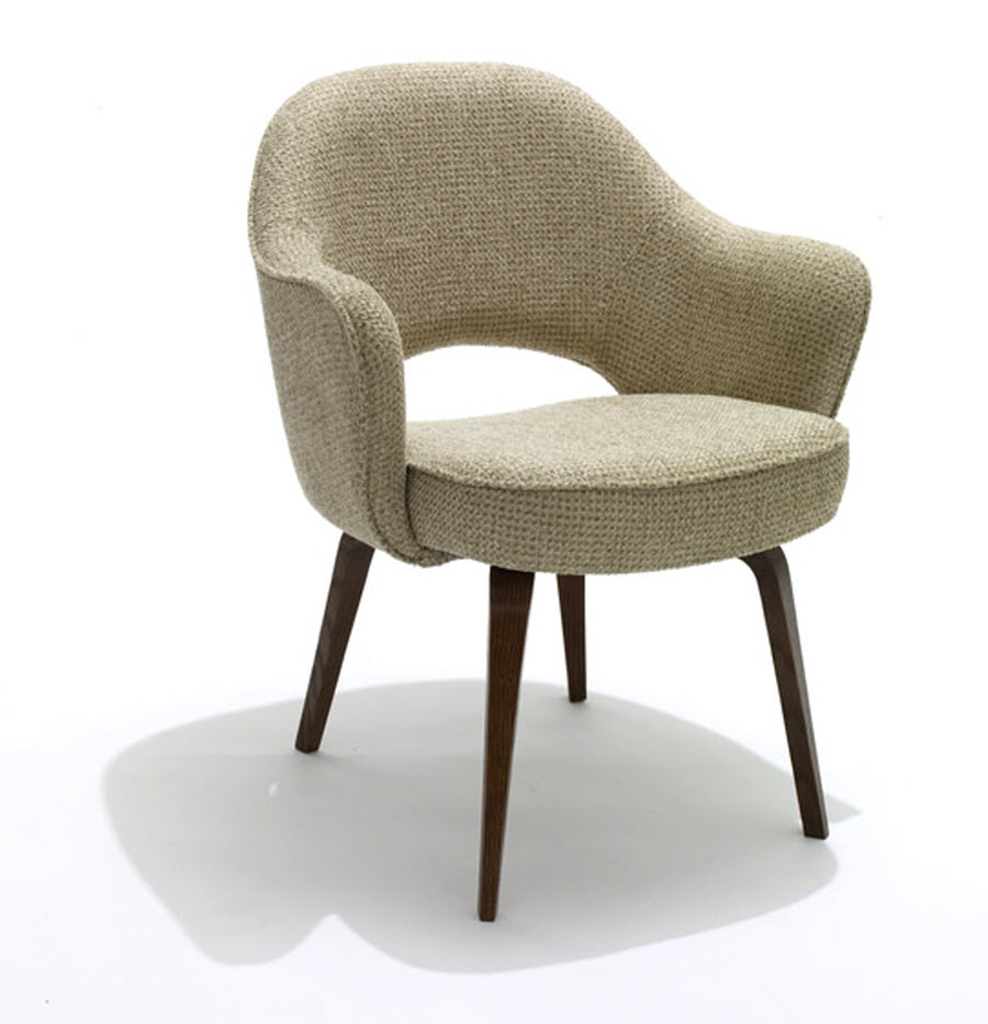 shop knoll saarinen executive chairs with wood legs. Black Bedroom Furniture Sets. Home Design Ideas