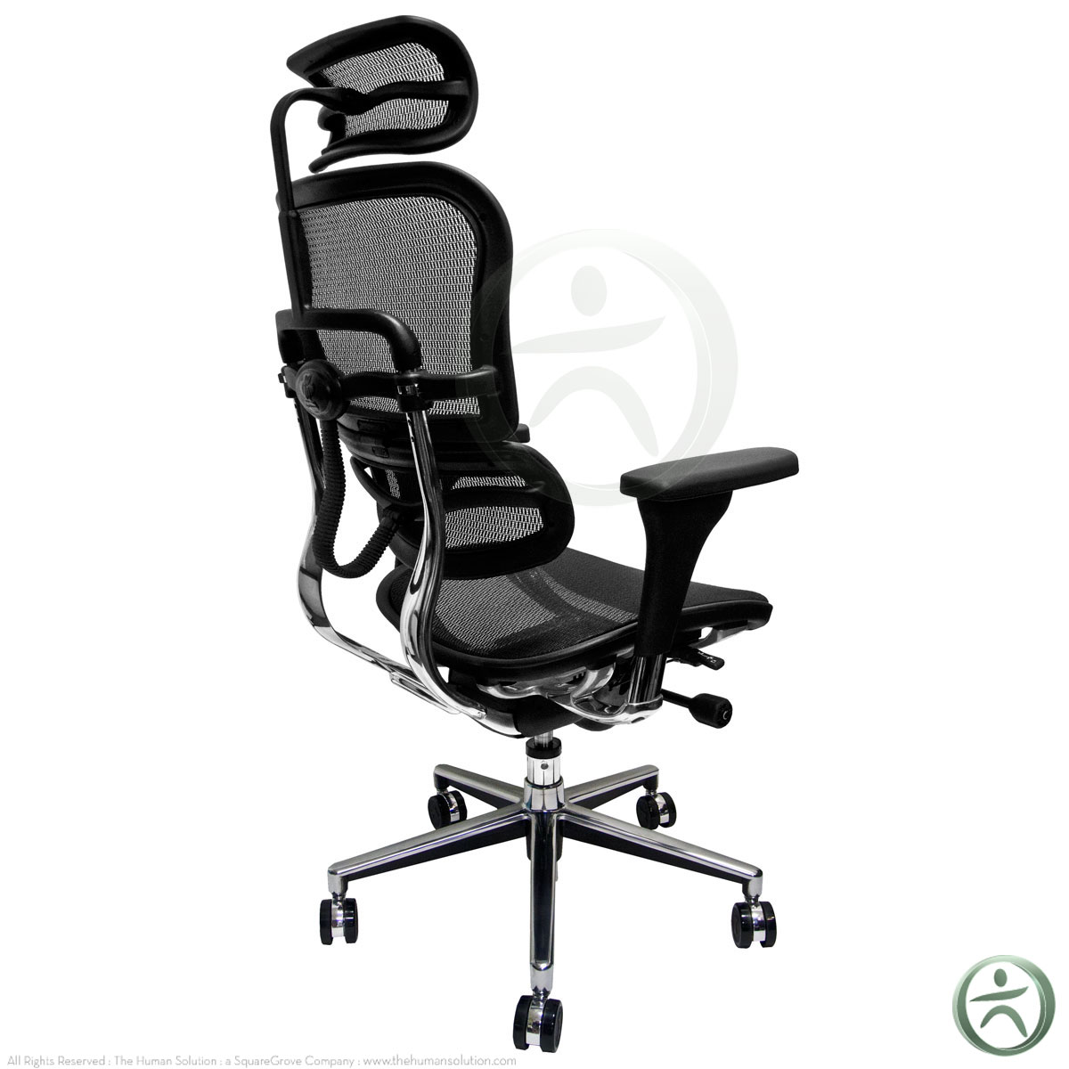 raynor ergohuman me7erg mesh chair with headrest open box clearance. Black Bedroom Furniture Sets. Home Design Ideas