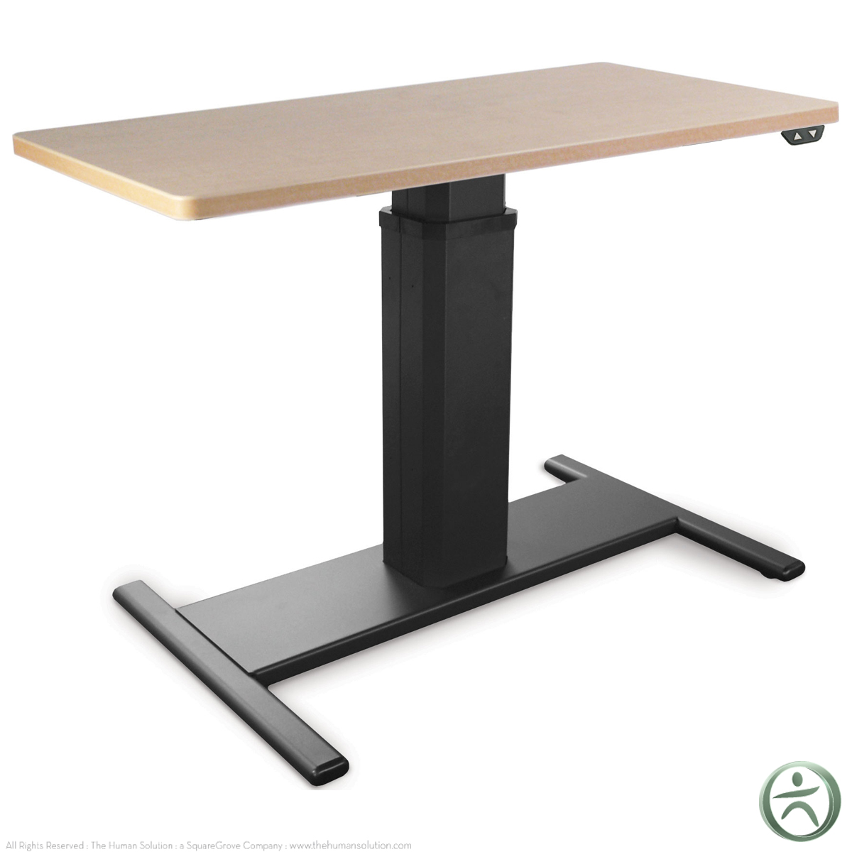 adjustable adjustable height desk. Black Bedroom Furniture Sets. Home Design Ideas