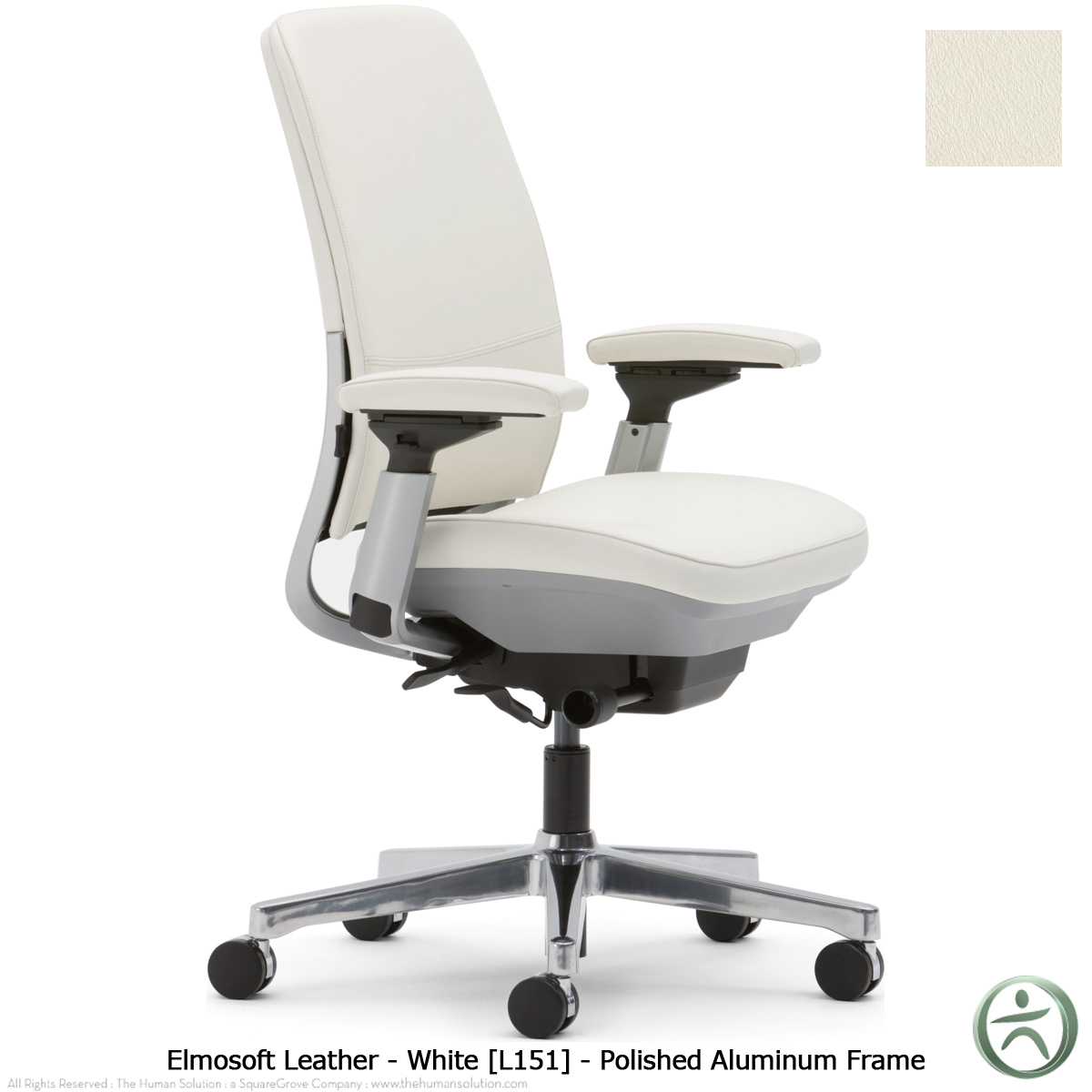 Steelcase amia chair in leather for Steelcase chairs