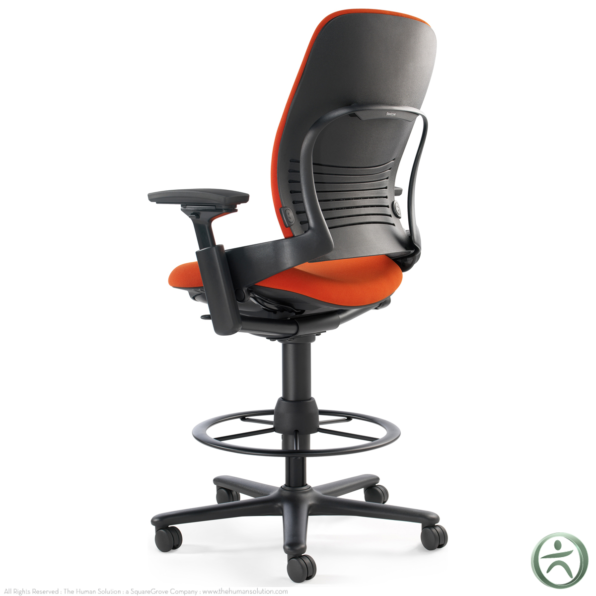 Steelcase leap drafting stool shop steelcase leap for Steelcase leap