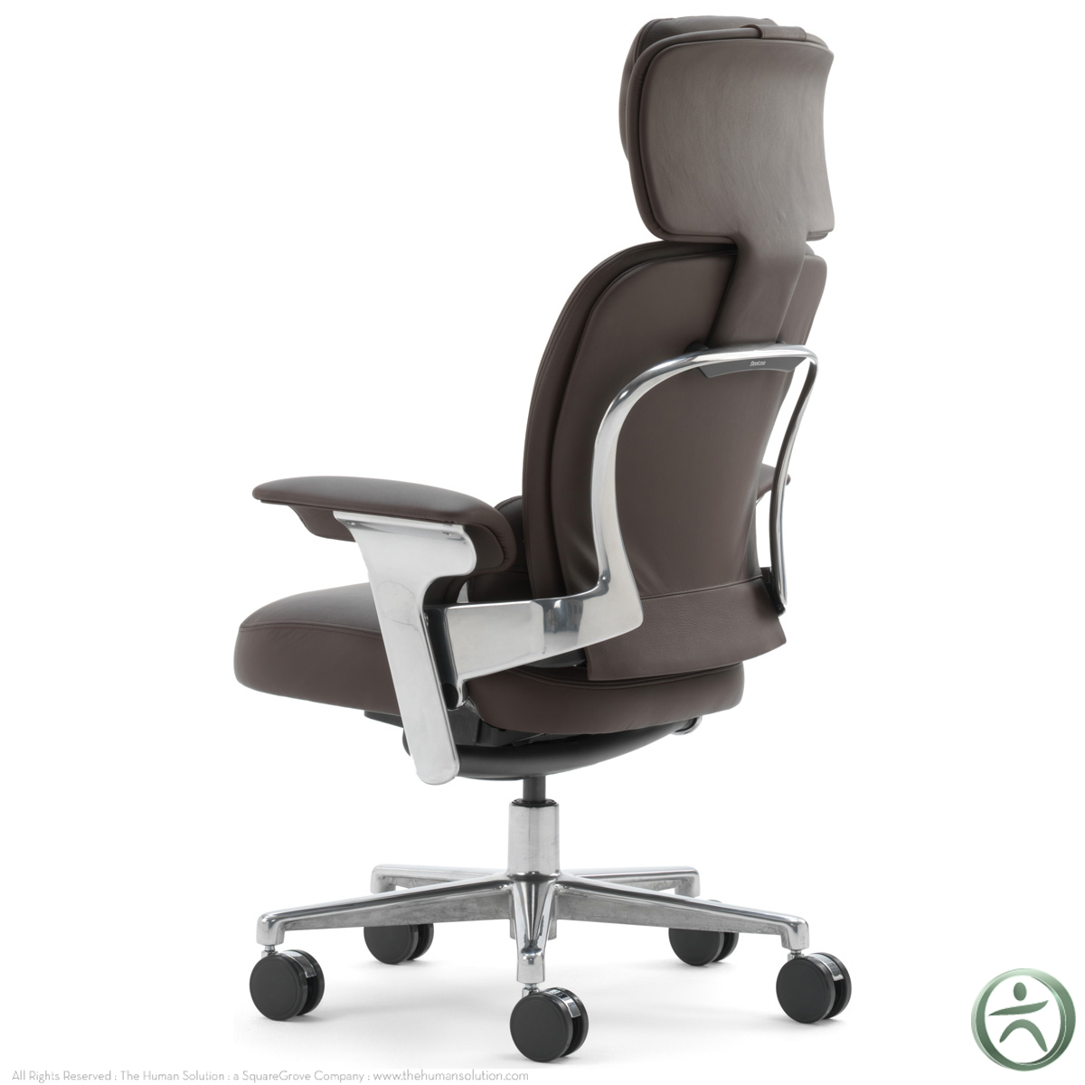 Steelcase leap worklounge in leather for Steelcase leap
