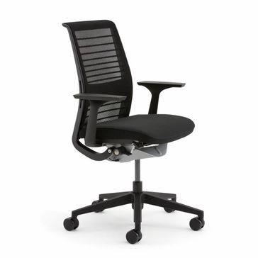 shop steelcase think chairs with 3d knit back. Black Bedroom Furniture Sets. Home Design Ideas