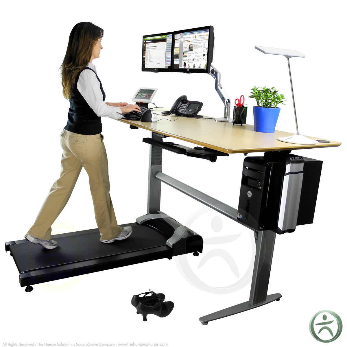 the tread treadmill by treaddesk shop standing desk treadmills. Black Bedroom Furniture Sets. Home Design Ideas