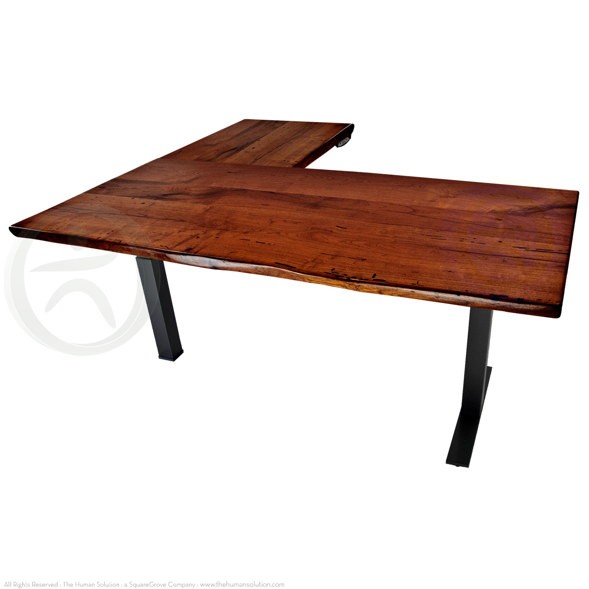 Shop Uplift 700 Mesquite Solid Wood Electric Sit Stand Desks