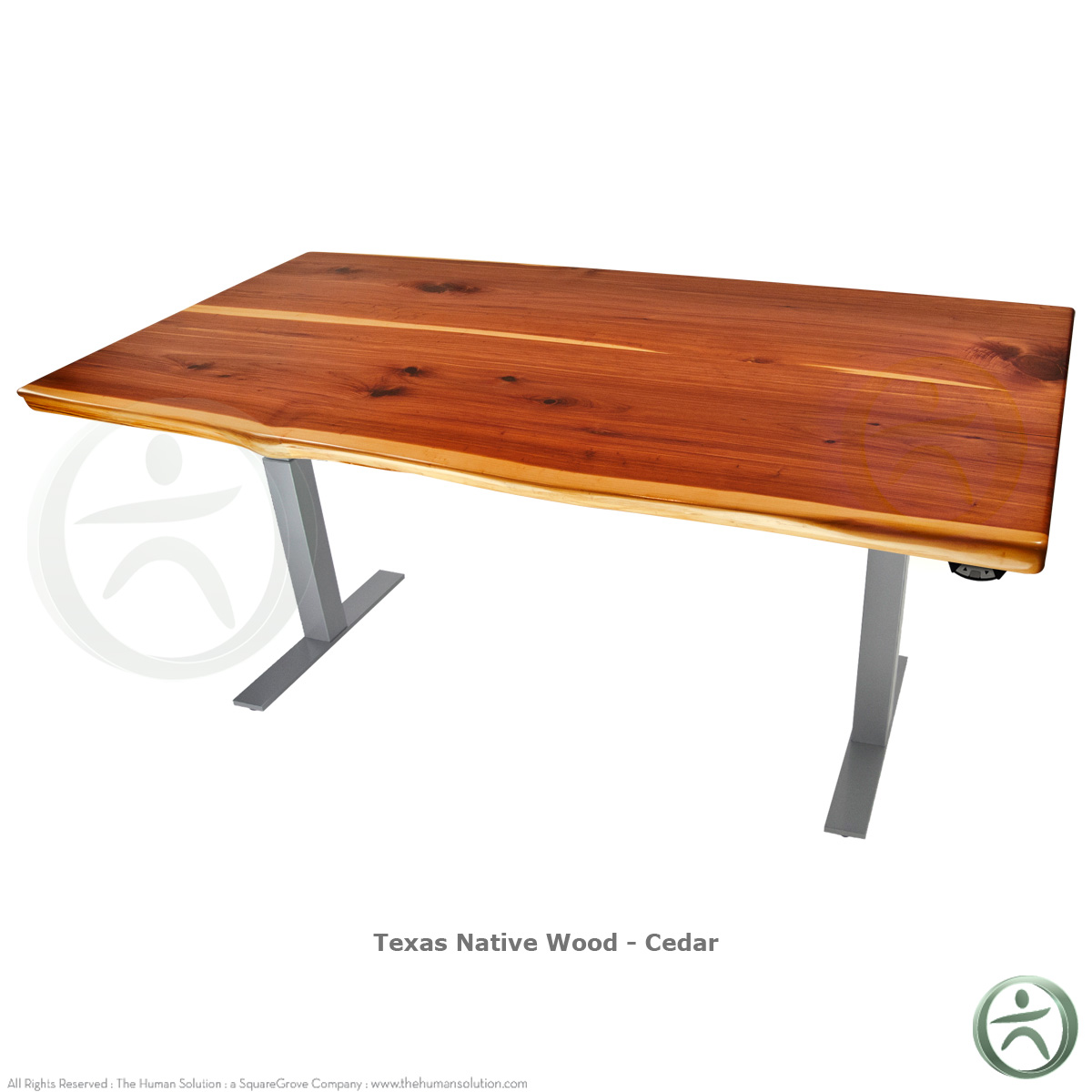 Sit Stand Desk Designs : Shop uplift solid wood electric quot sit stand desk