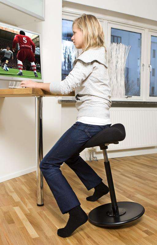 Varier move standing stool for Standing desk at home