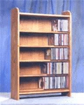 Oak CD Shelf 275