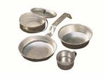 Coleman 5 piece aluminum mess kit