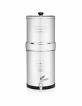 Crown Berkey Gravity Water Filter 6 Gallon with 4 Black Berkey Filters