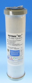 "MATRIKX™ Pb1 Carbon Block Lead Reducing 9 3/4"" inch Filter"