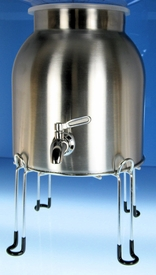 Stainless Steel water dispenser Crock set