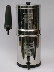Travel Berkey with two Black Berkey Filters