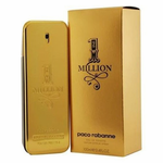 1 Million by Paco Rabanne, 3.4 oz Eau De Toilette Spray for Men