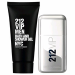 212 VIP by Carolina Herrera, 3 Piece Gift Set for Men