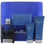 Acqua Essenziale BLU by Salvatore Ferragamo, 3 Piece Set for Men