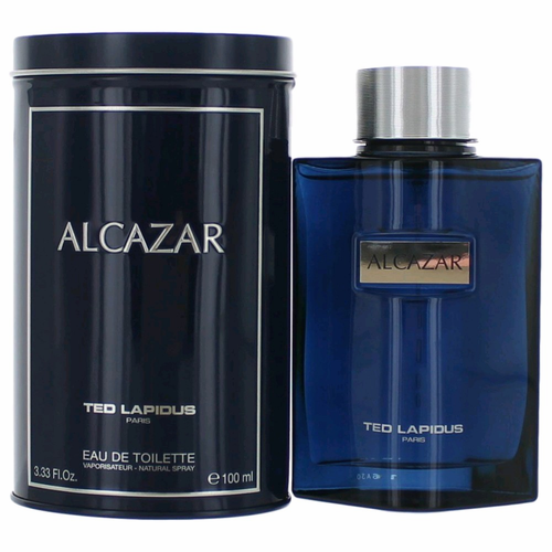 Alcazar by Ted Lapidus, 3.4 oz Eau De Toilette Spray for Men