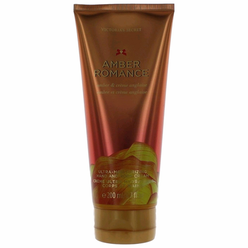 Amber Romance by Victoria's Secret, 6.7 oz Hand and Body Cream for Women