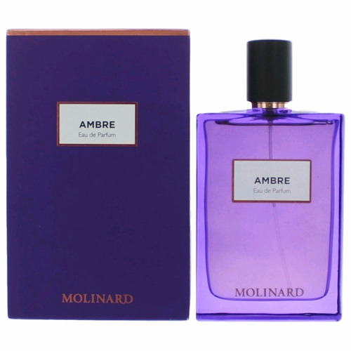 Ambre by Molinard, 2.5 oz Eau De Parfum Spray for Women