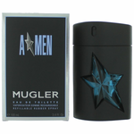 Angel by Thierry Mugler,  (A*men) 3.4 oz Eau De Toilette Refillable Rubber Spray for Men