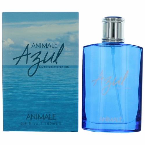 Animale Azul by Animale, 3.4 oz Eau De Toilette Spray for Men