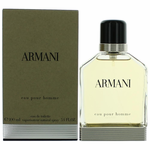 Armani Eau Pour Homme by Giorgio Armani, 3.4 oz Eau De Toilette Spray for Men