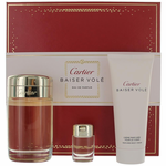 Baiser Vole by Cartier, 3 Piece Gift Set for Women